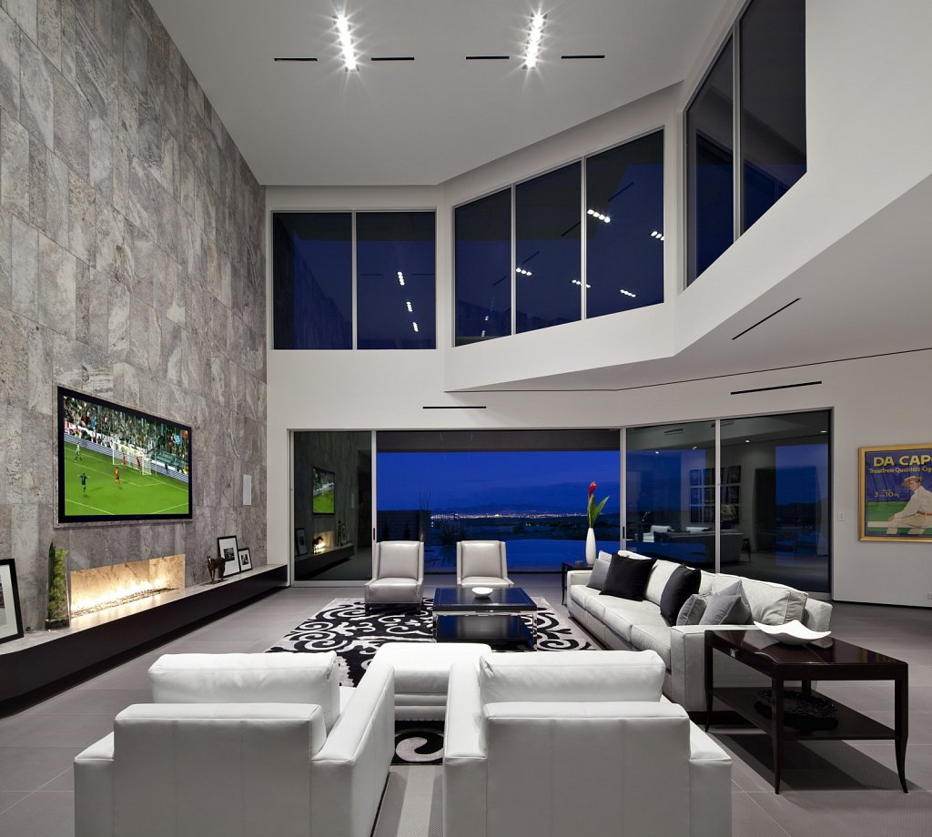 Modern Luxury - living room