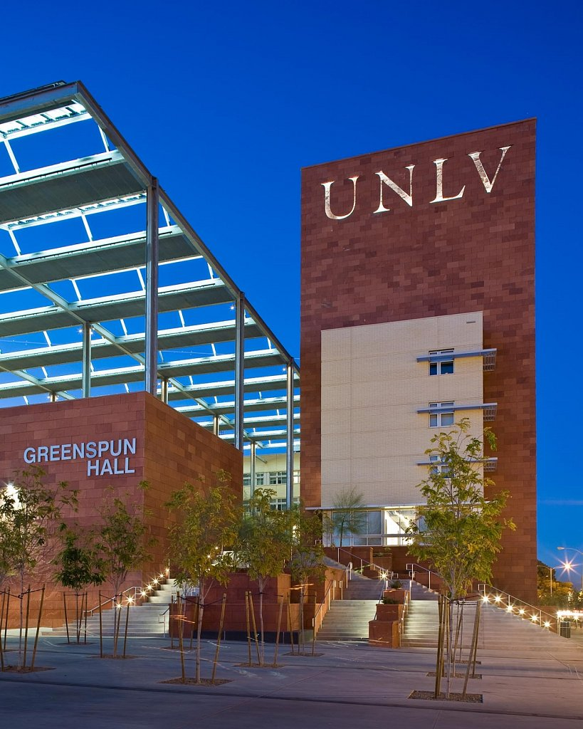 Greenspun Hall at UNLV - I