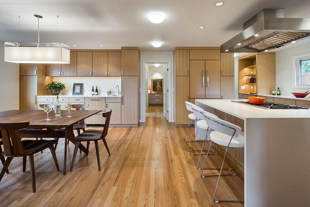 Jensen house - kitchen/dining room