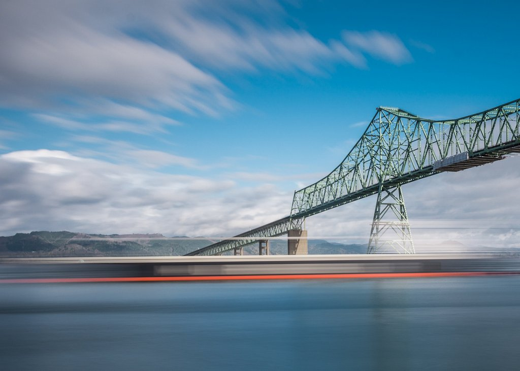 The Astoria-Megler bridge